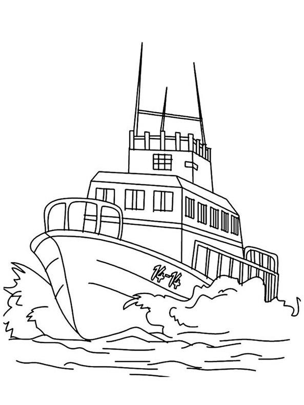 Ausmalbilder Kriegsschiffe 9