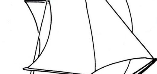 Segelschiffe Bild 9 zum ausmalen