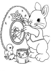 Ausmalbilder Ostern 4