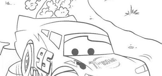 Cars zum ausmalen. Bild 13