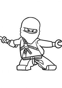 Ninjago zum ausmalen 1