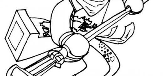 Ninjago zum ausmalen 3