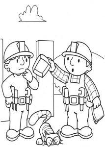 Ausmalbilder Bob der Baumeister 2