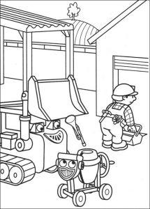 Bob der Baumeister zum ausmalen 3