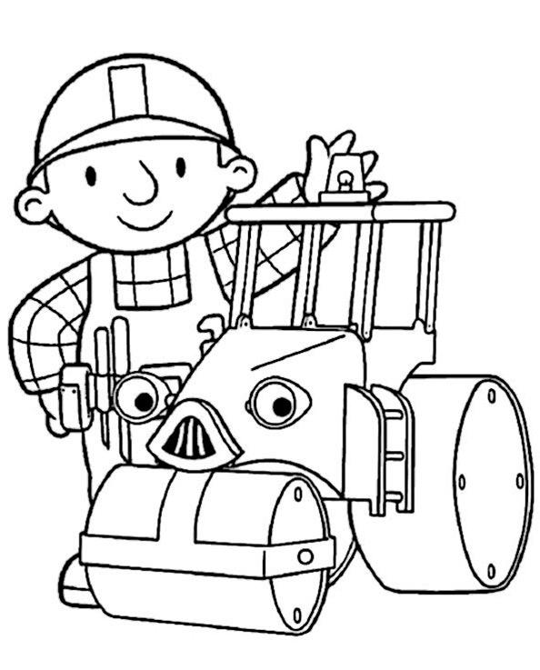 Bob der Baumeister zum ausmalen 7