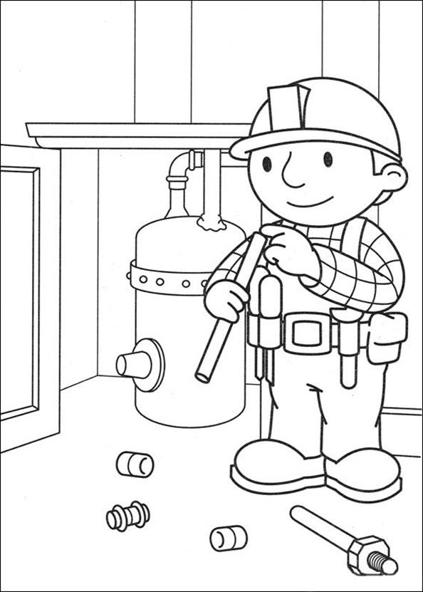 Bob der Baumeister zum ausmalen 8