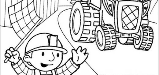Bob der Baumeister zum ausmalen 10