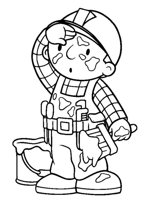 Bob der Baumeister zum ausmalen 11