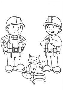 Bob der Baumeister zum ausmalen 12