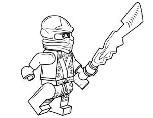 Ninjago zum ausmalen 10