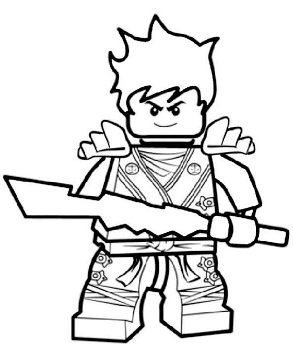 Ninjago zum ausmalen 11