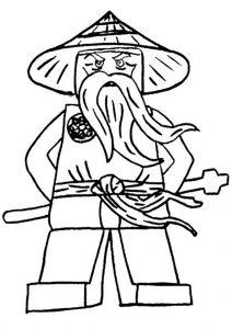 Ninjago zum ausmalen 6