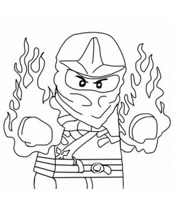 Ninjago zum ausmalen 7