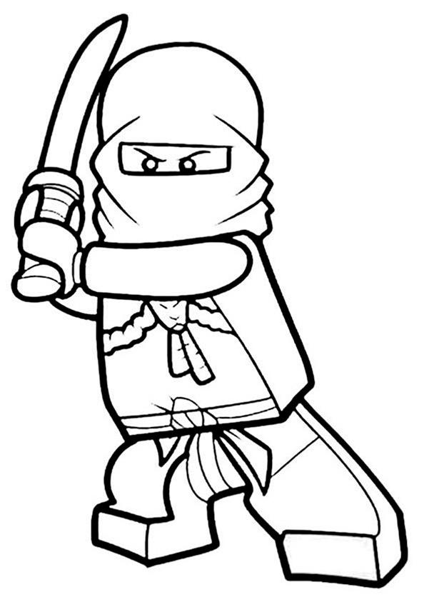 Ninjago zum ausmalen 8