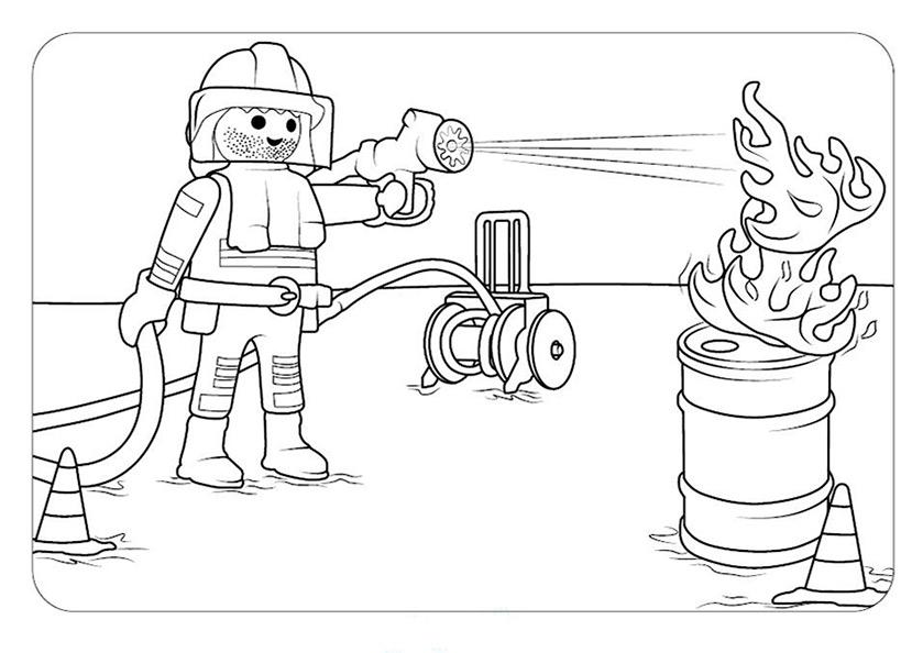 Playmobil 11 Ausmalen