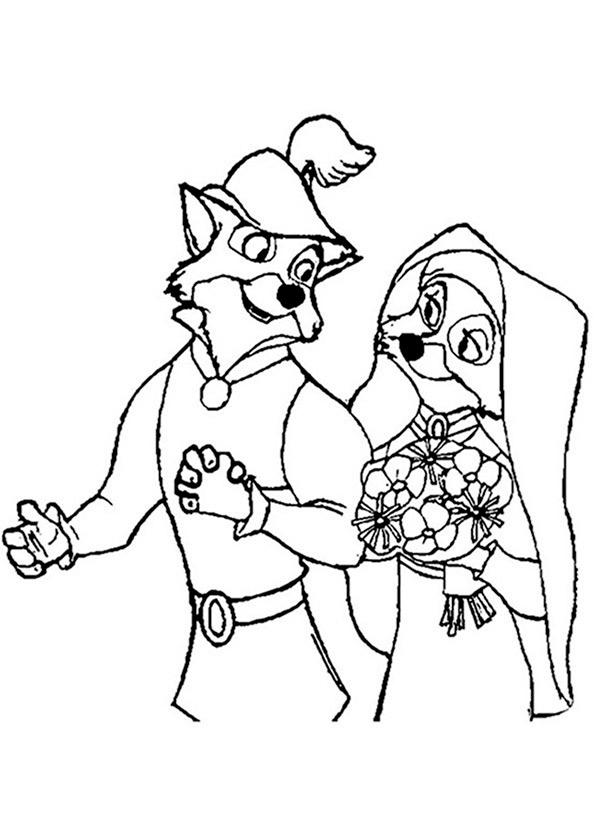 Robin Hood zum ausmalen 8