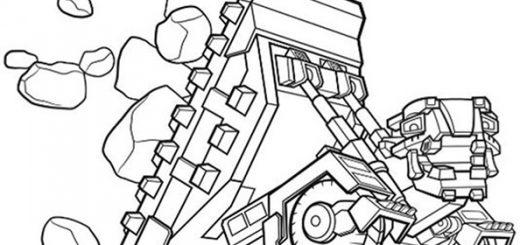 Dinotrux zum ausmlen. Bild 2