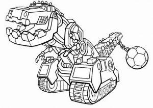 Dinotrux zum ausmalen. Bild 7