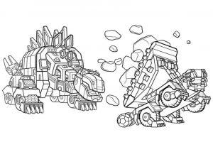 Dinotrux zum ausmalen. Bild 11