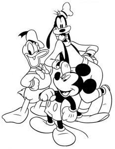 Ausmalbilder Disney 9