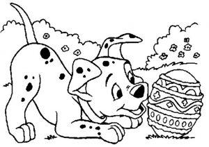 Ausmalbilder Disney Ostern 14