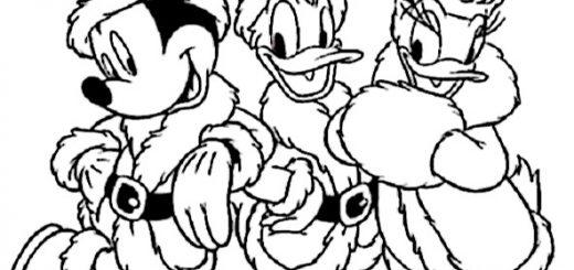 Ausmalbilder Disney Weihnachten 17
