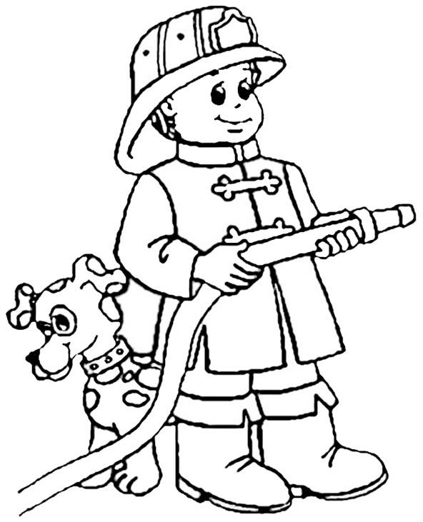 Ausmalbilder Feuerwehr 9