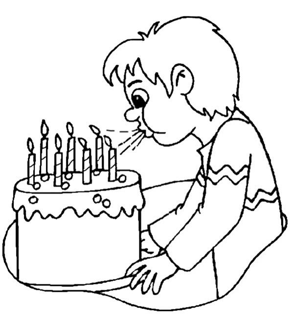 Geburtstag zum ausmalen 2