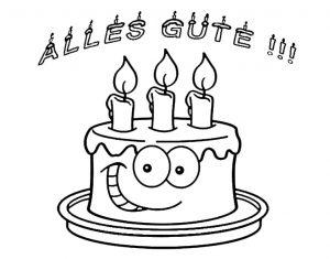 Geburtstagsbilder zum ausmalen 2