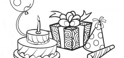 Geburtstag zum ausmalen 5