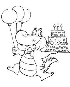 Geburtstagsbilder zum ausmalen 9