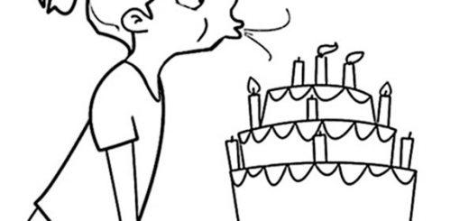 Geburtstagsbilder zum ausmalen 12