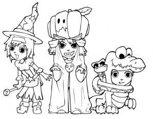 Halloween zum ausmalen, 4
