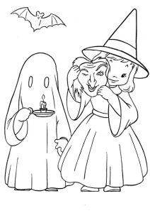 Halloween 11 zum ausmalen