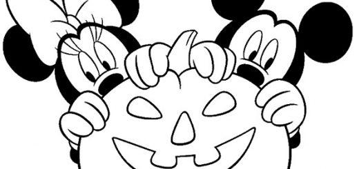 Ausmalbilder Halloween Disney 20