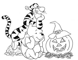 Ausmalbilder Disney Halloween 21