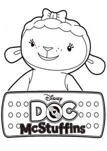 Doc McStuffins zum ausmalen 3