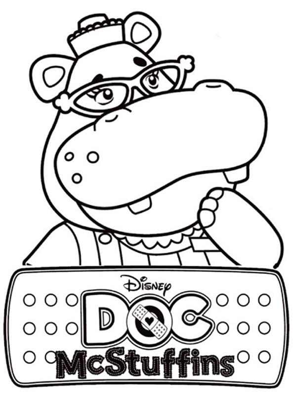 Doc McStuffins zum ausmalen 4