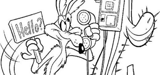 Ausmalbilder zum ausdrucken Looney Tunes 6