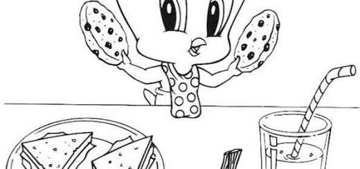 Ausmalen Looney Tunes 10