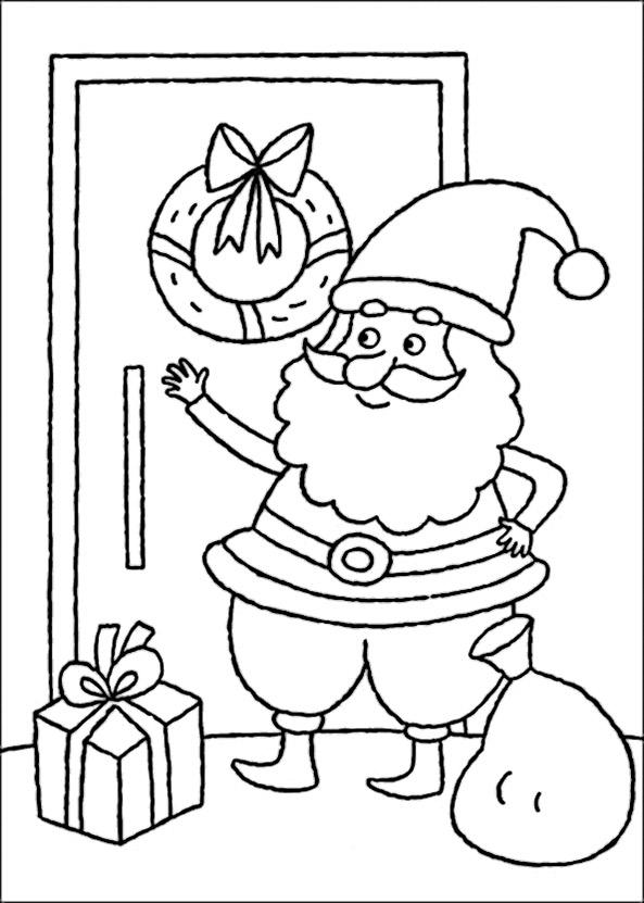 Bild zum ausmalen Weihnachten 6