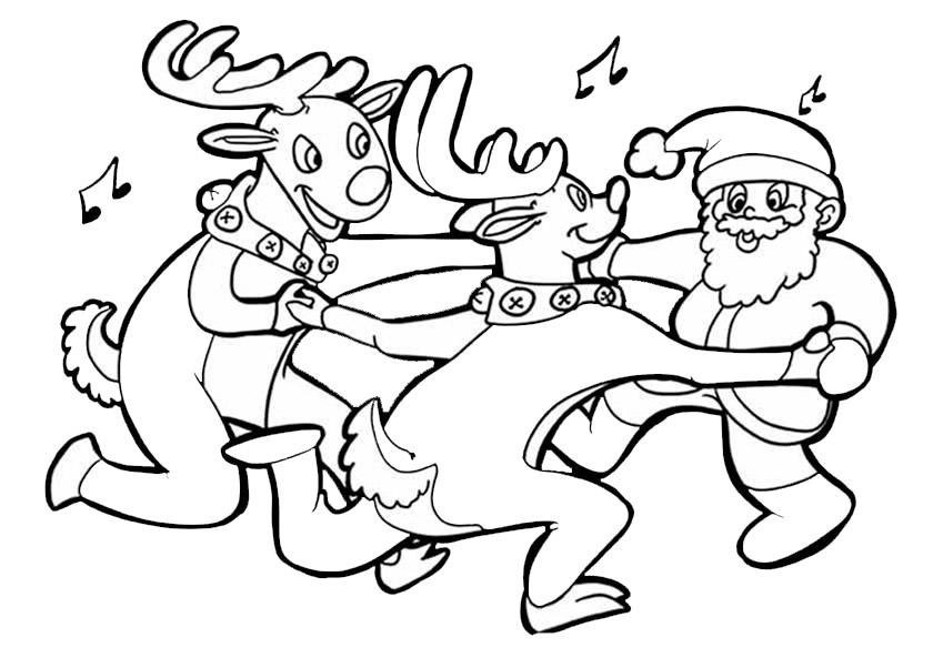 Bilder zum ausmalen Weihnachten 8
