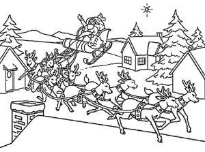 Weihnachten zum ausmalen 19