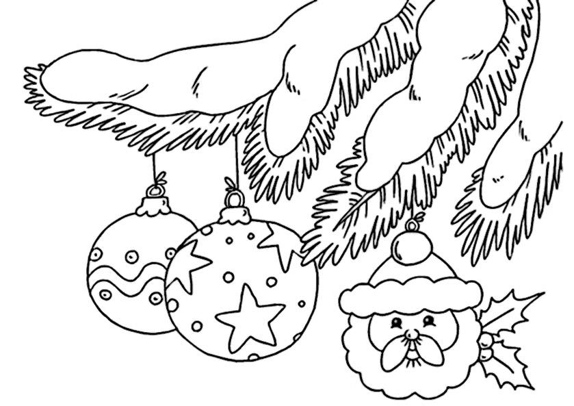 Weihnachten zum ausmalen 24