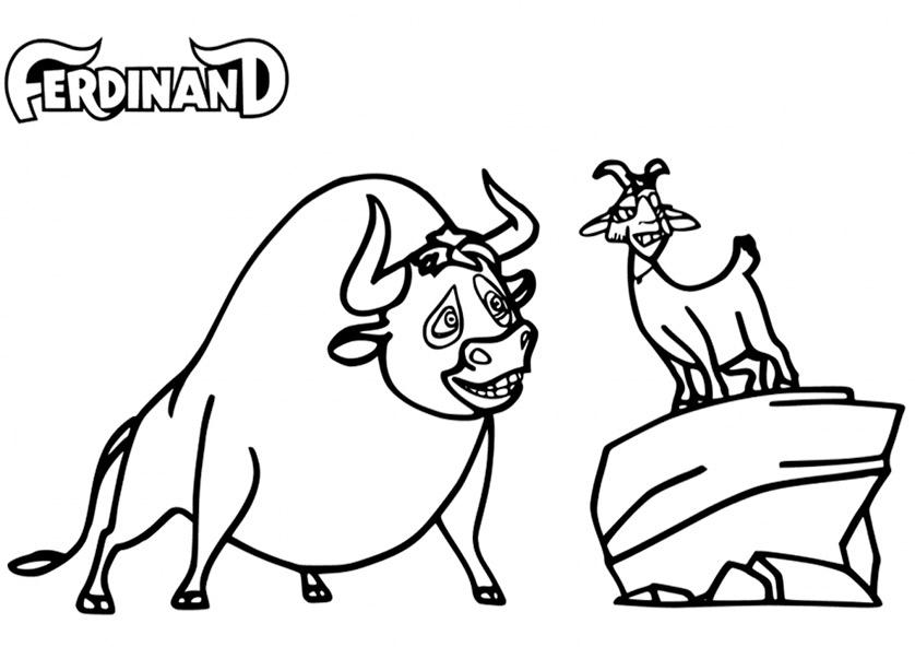 Ferdinand zum ausmalen 5
