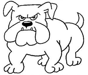 Ausmalbilder Hunde 5