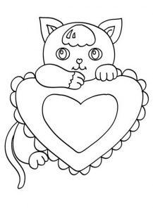 Ausmalbilder Katze 3
