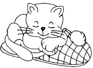 Ausmalbilder Katze 5