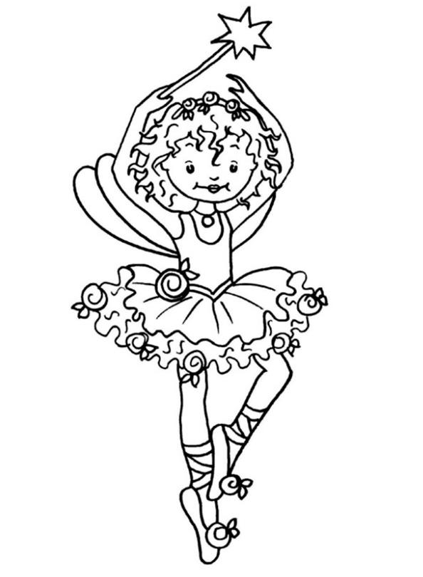 Ausmalbilder Prinzessin Lillifee 2