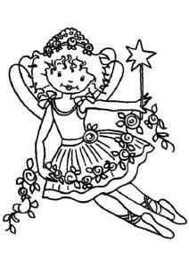Ausmalbilder Prinzessin Lillifee 4